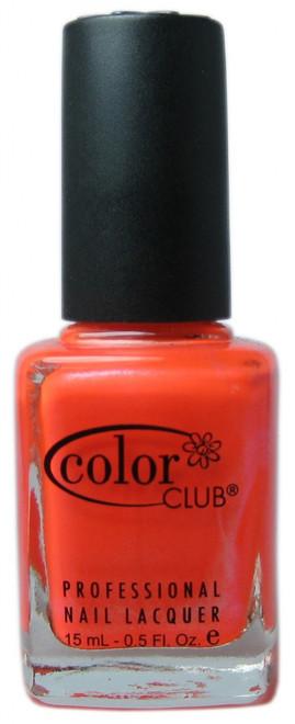 Color Club Tangerine Scream nail polish