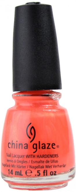 China Glaze Flirty Tankini nail polish