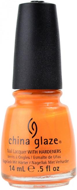 China Glaze Orange You Hot? nail polish