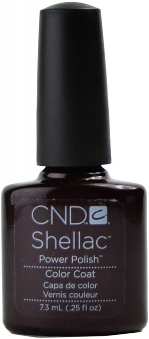CND Shellac Dark Lava nail polish