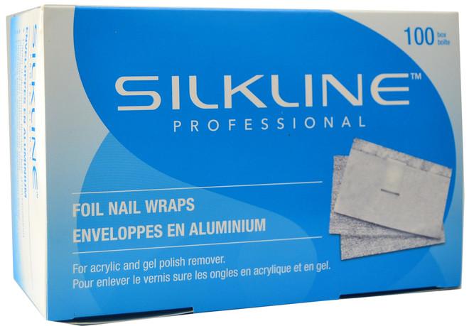 Silkline Foil Gel Polish Remover Wraps