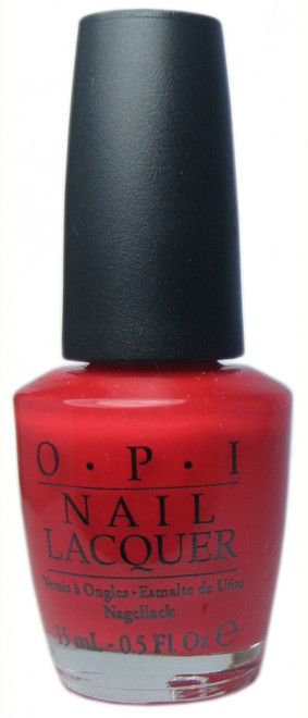 OPI Red My Fortune Cookie nail polish