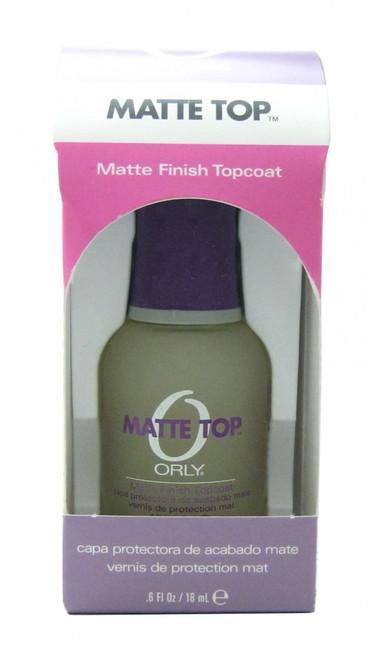 Orly Matte Topcoat nail polish