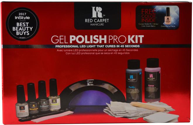 Red Carpet Manicure Gel Polish Pro Kit (w/ Professional LED Light)
