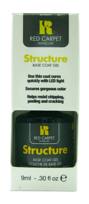 Structure Base Coat (LED or UV Cure) by Red Carpet Manicure