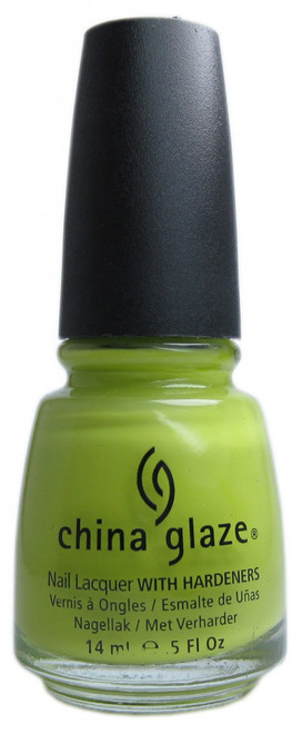China Glaze Electric Pineapple nail polish