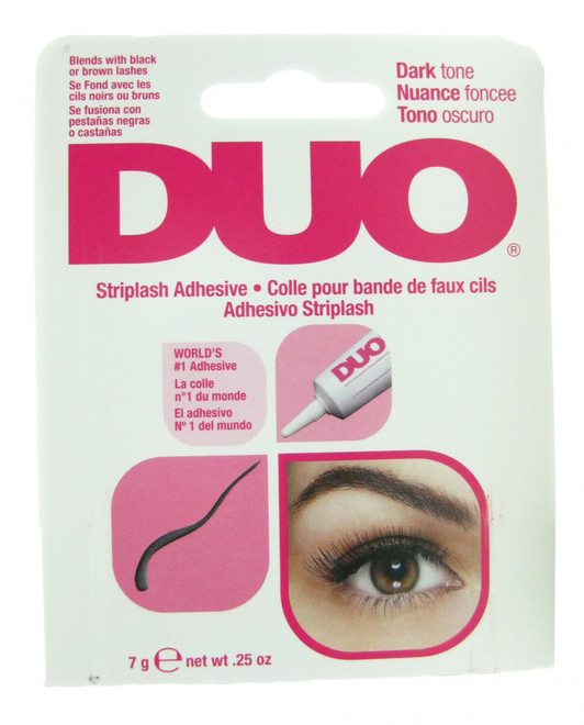 Duo Eyelash Adhesive Duo Dark Striplash Adhesive  / Glue (0.25 oz)