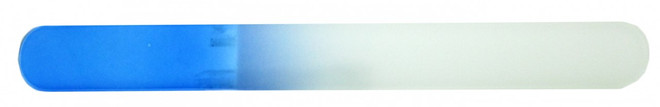 Berkeley Large Crystal Glass Nail File (Blue)