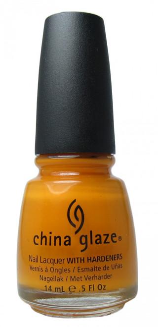 China Glaze Papaya Punch nail polish