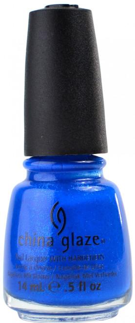 China Glaze Blue Sparrow nail polish