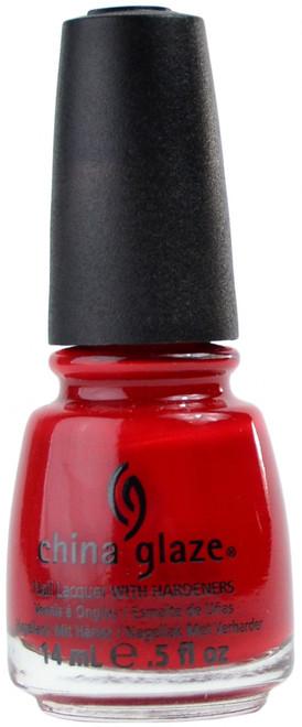 China Glaze China Rouge nail polish