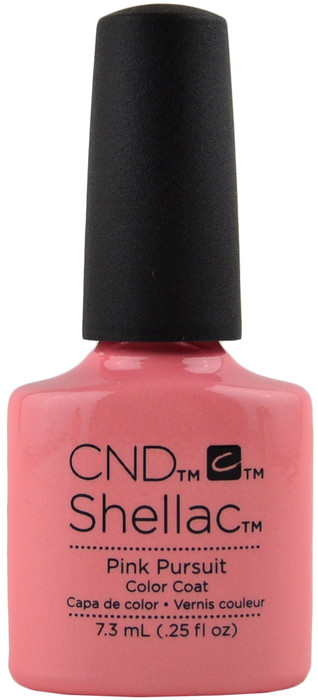 Cnd Shellac Pink Pursuit Uv Led Polish Free Shipping At Nail Polish Canada
