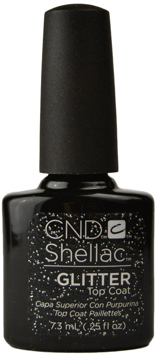 Cnd Shellac Uv Glitter Top Coat 0 25 Fl Oz 7 3 Ml Free Shipping At Nail Polish Canada
