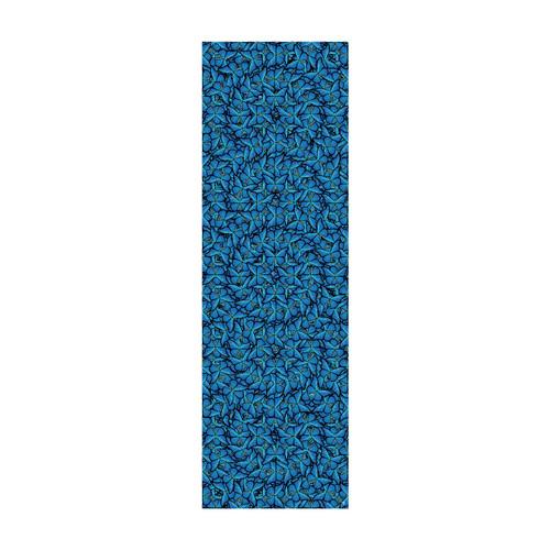 22. Blue Morpho Cyan Stole