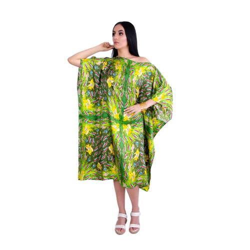 36. Orinoco Green Versatile Kaftan