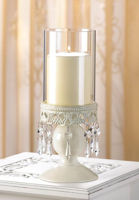 victorian hurricane candle holder