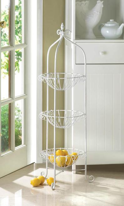 corner basket stand