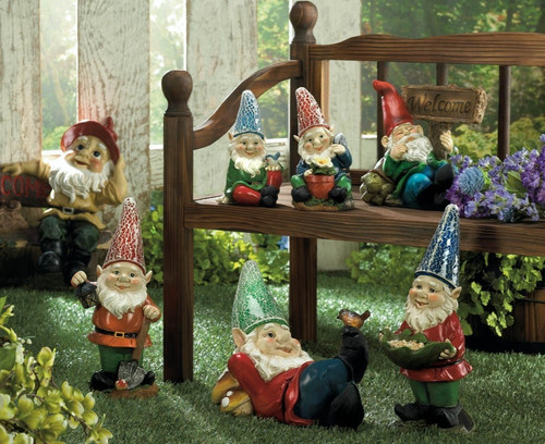 Garden Gnome Lawn Ornaments
