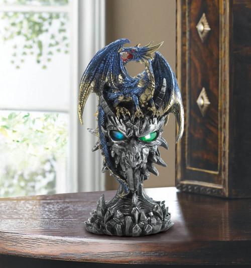 blue dragon warrior