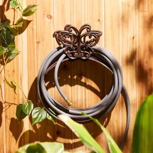 butterfly cast iron hose organizer