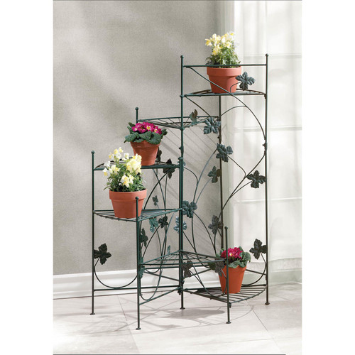 ivy design staircase plant stand