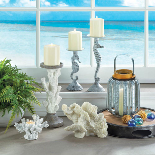 seahorse candle holders