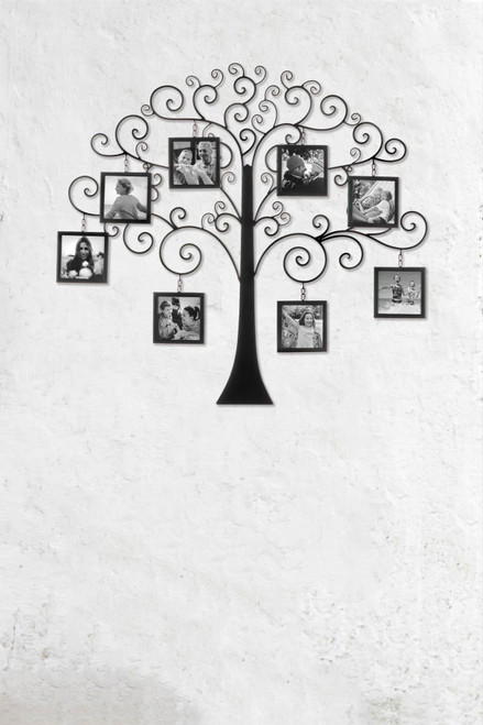 family tree photo wall decor