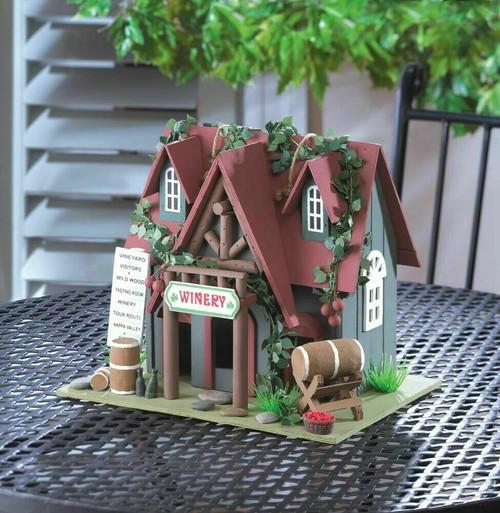 cootage winery birdhouse