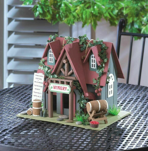cootage winery birdhouse