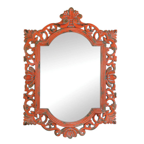 Vintage Emily Coral Wall Mirror