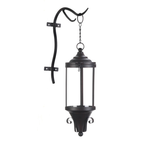 Large Outdoor Open Top Hanging Lamp