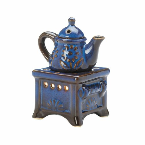 blue teapot oil warmer