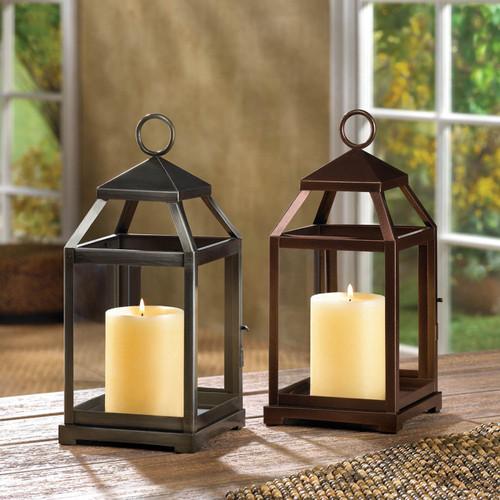 contemporary candle lanterns