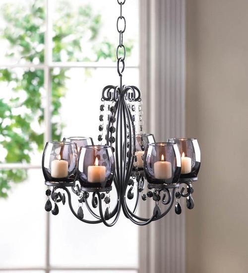 midnight elegance chandelier