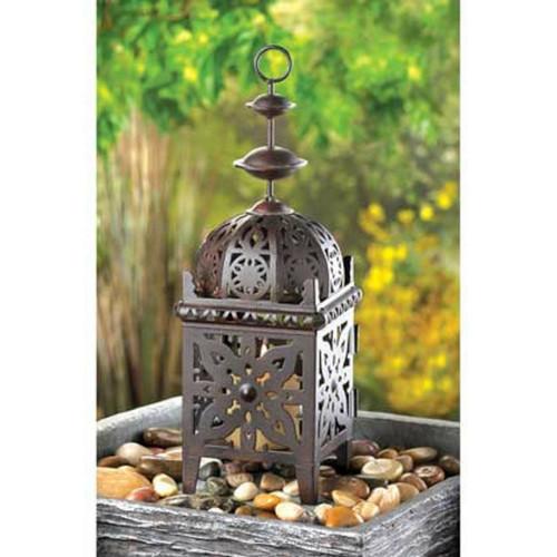 brown moroccan lantern