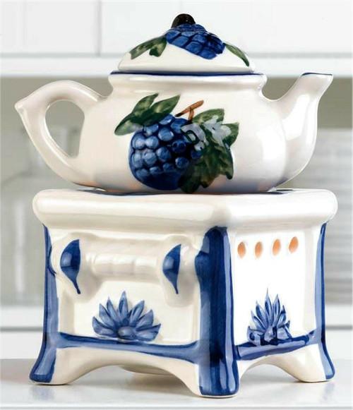 teapot stove oil warmer