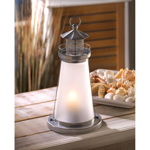 lookout nautical lighthouse candle lamp