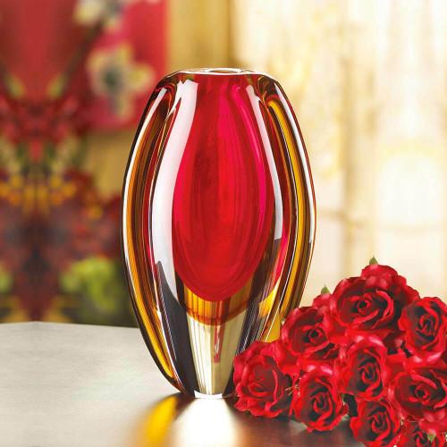 sunfire glass vase