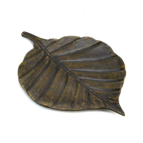 avery leaf decorative tray