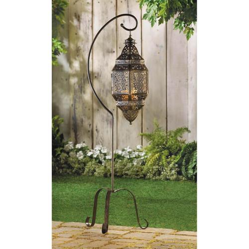 morocan candle lantern stand