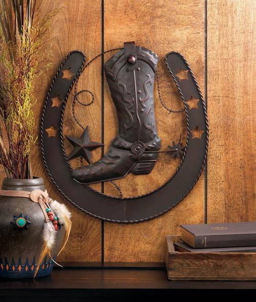 boot wall decor
