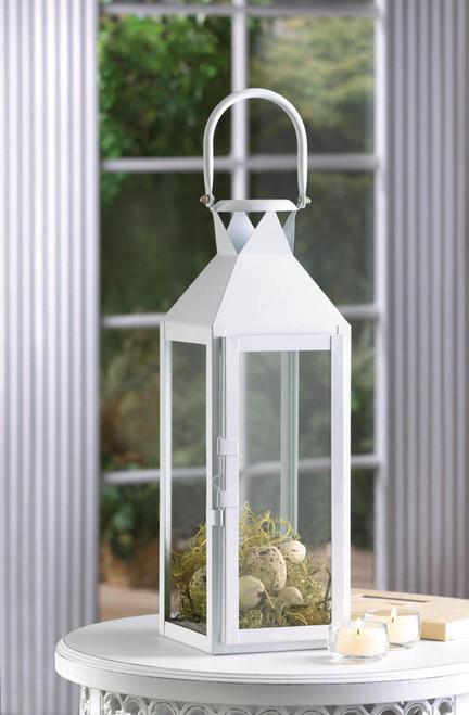white manhattan lantern