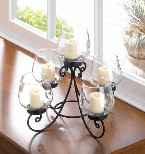 enlightened candle centerpiece