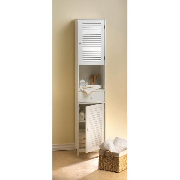 Nantucket bath tall cabinet