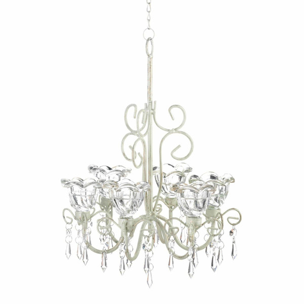 Crystal Blooms Chandelier