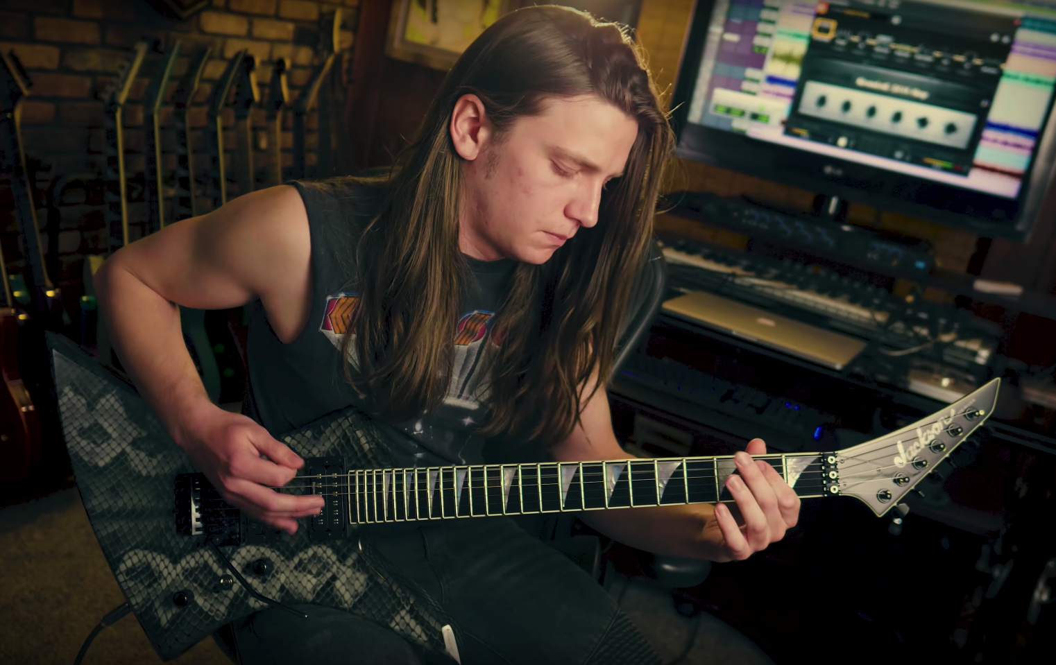 Watch: Brandon Ellis of The Black Dahlia Murder on BIAS AMP 2!