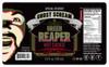 Green Reaper Hot Sauce Label.