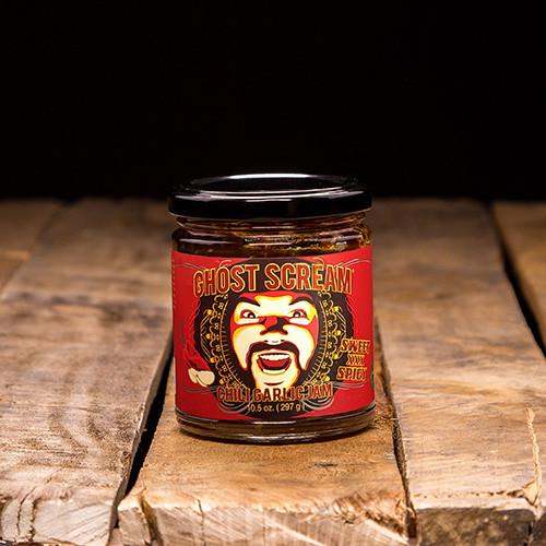 Chili Garlic Jam Jar