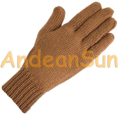 Solid Color Alpaca Gloves - 16783001