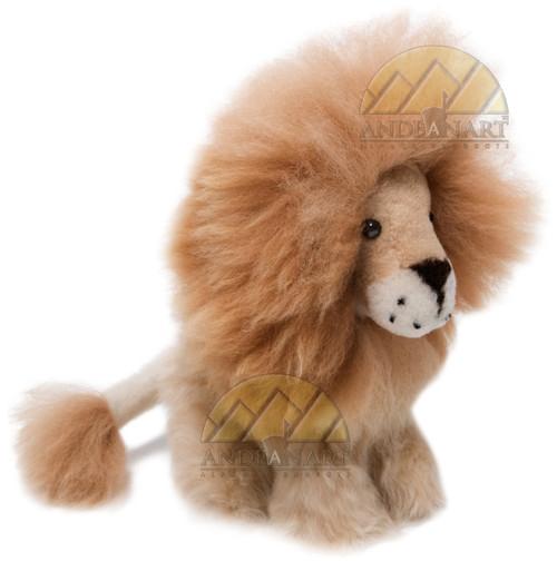 """Alpaca Fur Lion 8"""" inches fur to fur (6 1/4"""" hide to hide) - Mixed Color - 15961613"""